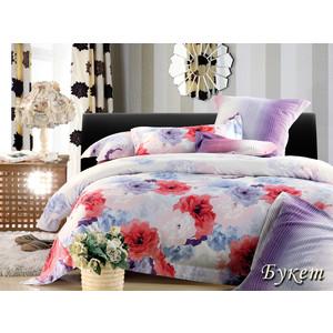 Комплект постельного белья TIFFANY'S secret Евро, сатин, Букет n70