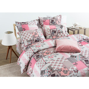 Комплект постельного белья TIFFANY'S secret Семейный, сатин, Зефирные сны n50 зефирные конфеты haribo маршмеллоу 100г