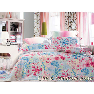 Комплект постельного белья TIFFANY'S secret Семейный, сатин, Сон в летнюю ночь n50 цены онлайн