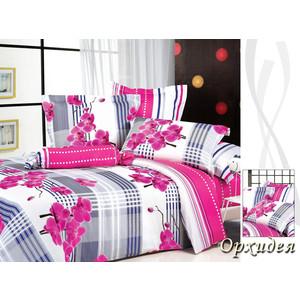 Комплект постельного белья TIFFANY'S secret Семейный, сатин, Орхидея n50 двуспальный комплект белья орхидея 3d 5067 1 вологодские кружева