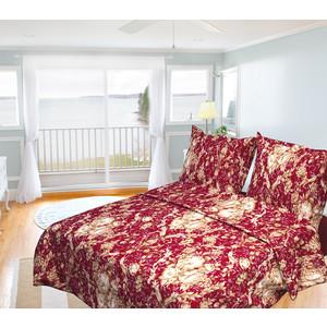Комплект постельного белья Олеся Евро, бязь, Барокко, n70