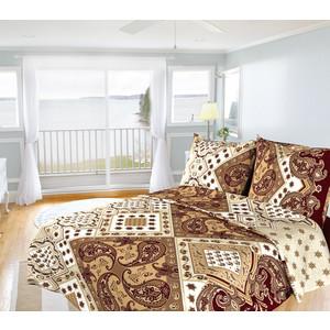 Комплект постельного белья Олеся Евро, бязь, Восток, n70