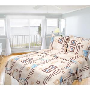 Комплект постельного белья Олеся Евро, бязь, Пикассо, n70