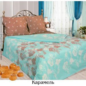 Комплект постельного белья Сова и Жаворонок 1,5 сп, бязь, Карамель, n70