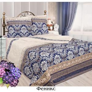 Комплект постельного белья Сова и Жаворонок Евро, бязь, Феникс, n50