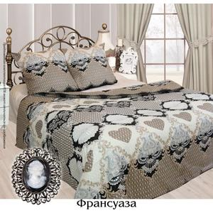 Комплект постельного белья Сова и Жаворонок Евро, бязь, Франсуаза, n70