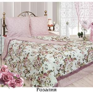 Комплект постельного белья Сова и Жаворонок Евро, бязь, Розалия, n70 i baby сова