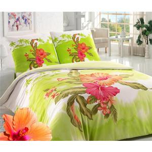 Комплект постельного белья Сова и Жаворонок 2-х сп, бязь премиум, Гаити