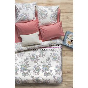 Комплект постельного белья Сова и Жаворонок 1,5 сп, поплин, Магнолия, n70