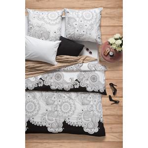 Комплект постельного белья Сова и Жаворонок 1,5 сп, поплин, Нероли, n70