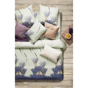 Комплект постельного белья Сова и Жаворонок Евро, поплин, Лаванда, n50 комплект постельного белья сова и жаворонок жасмин