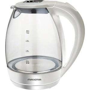 Чайник электрический MAXIMA MK-G381 белый
