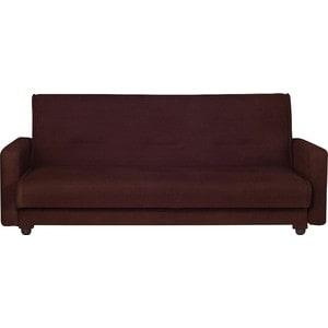 Диван Стоффмебель (ЛМФ) Астра коричневый диван стоффмебель лмф лондон рогожка бежевая