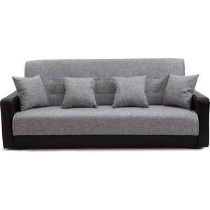 Диван Стоффмебель (ЛМФ) Лондон рогожка серая шатура диван лондон рогожка бежевая 2 подушки в подарок