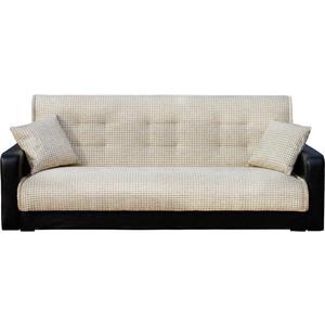 Диван Стоффмебель (ЛМФ) Лондон рогожка микс серая шатура диван лондон рогожка бежевая 2 подушки в подарок
