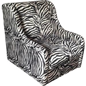 Кресло-кровать Mebel Ars Аккорд - зебра ППУ