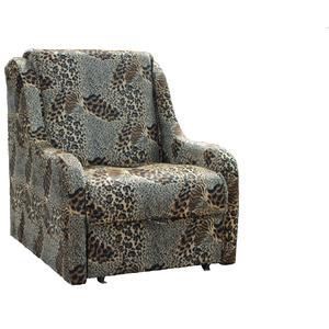 Кресло-кровать Mebel Ars Аккорд - леопард ППУ
