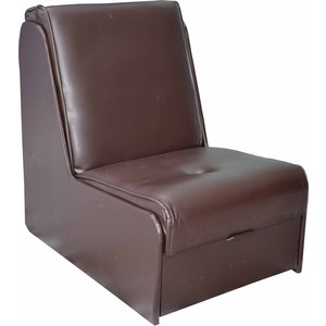 Кресло-кровать Mebel Ars №2 экокожа (шоколад) ППУ