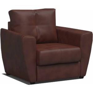 Кресло-кровать Mebel Ars Квартет - экокожа шоколад ППУ (110/90/80)