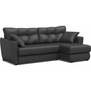 Фотография товара диван угловой Mebel Ars Амстердам черный ПБ (544218)