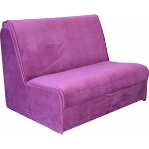 Диван Mebel Ars Аккордеон №2 фиолетовый ППУ диван аккордеон блюз 8 ак 127