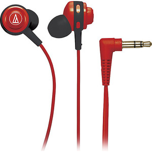 Наушники Audio-Technica ATH-COR150 red наушники audio technica ath pro5mk3 gm