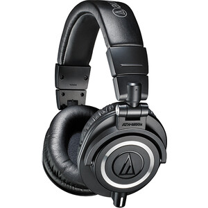 все цены на Наушники Audio-Technica ATH-M50X black онлайн