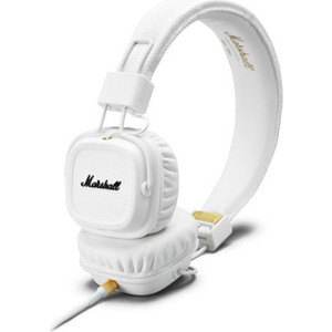 Наушники Marshall Major II white marshall mode headphones black white