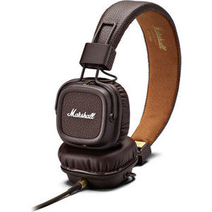 Наушники Marshall Major II brown шины kumho marshal wintercraft suv ice ws31 255 55 r18 109t