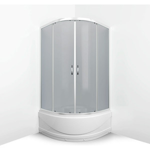 Душевой уголок Erlit 80x80x195 см (ER0508T-C4)
