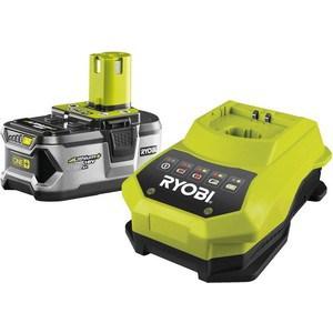 Зарядное устройство Ryobi RBC18L50 с аккумулятором 18В 5Ач Li-ion One+ (3002601)