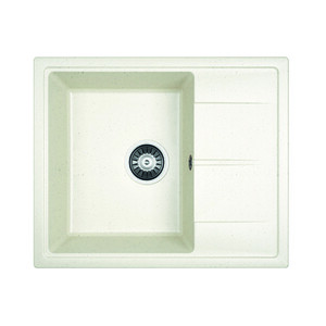 Мойка кухонная Dr.Gans Ника 580 белый (25.070.B0580.401) ника 1041 0 1 61 ника
