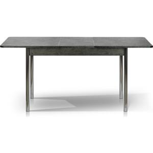 Стол МегаЭлатон Капри мини - дуб черный патина стол обеденный раскладной капри дуб белый патина