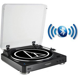 Виниловый проигрыватель Audio-Technica AT-LP60BT BK audio technica at lp60 usb виниловый проигрыватель