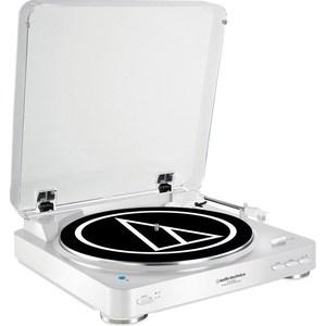 Виниловый проигрыватель Audio-Technica AT-LP60BT WH головка звукоснимателя audio technica at f2