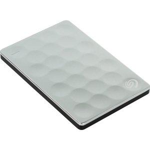 Внешний жесткий диск Seagate 2Tb Ultra Slim platinum (STEH2000200) внешний жесткий диск seagate game drive for ps4 2tb черный