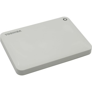 Внешний жесткий диск Toshiba 500Gb Canvio Connect II white (HDTC805EW3AA)