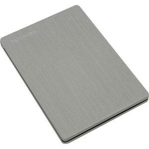 Внешний жесткий диск Toshiba 500Gb Canvio Slim silver (HDTD205ESMDA)