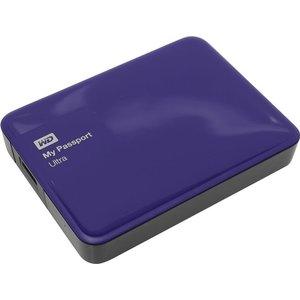 Внешний жесткий диск Western Digital 3Tb My Passport Ultra blue (WDBNFV0030BBL-EEUE)