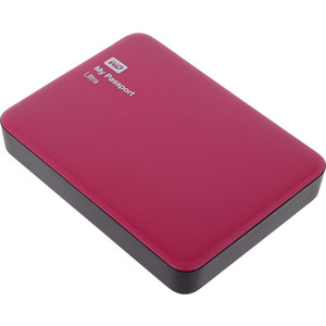 Внешний жесткий диск Western Digital 3Tb My Passport Ultra red (WDBNFV0030BBY-EEUE)