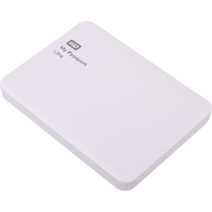Внешний жесткий диск Western Digital 3Tb My Passport Ultra white (WDBNFV0030BWT-EEUE)