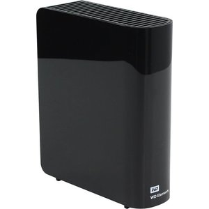Внешний жесткий диск Western Digital 4Tb Elements Desktop black (WDBWLG0040HBK-EESN) жесткий диск 4tb western digital purple wd40purz