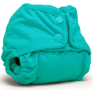 Подгузник для плавания Kanga Care Newborn Snap Cover Peacock (661799592741)