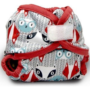 Подгузник Kanga Care Newborn Aplix Cover Clyde (820103913409) подгузник kanga care newborn aplix cover castle 784672405706
