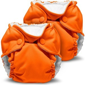Многоразовый подгузник Kanga Care для новорожденных Lil Joey 2 шт. Poppy (784672405829) цена