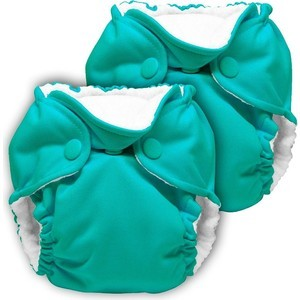 Многоразовый подгузник Kanga Care для новорожденных Lil Joey 2 шт. Peacock (661799592710) одежда для новорожденных турция