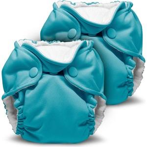 Многоразовый подгузник Kanga Care для новорожденных Lil Joey 2 шт. Aquarius (784672405584)