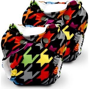 Многоразовый подгузник Kanga Care для новорожденных Lil Joey 2 шт. Invader (820103913188)