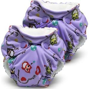 Многоразовый подгузник Kanga Care для новорожденных Lil Joey 2 шт. Eco Owl (628586258785) одежда для новорожденных турция