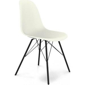 Стул Sheffilton SHT-S37 белый/черный муар стул барный sheffilton sht s48 черный черный муар 2 штуки